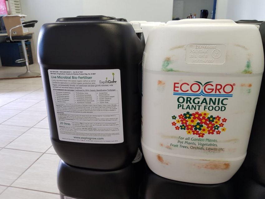 ECO GRO Fish Emulsion microbial food for Explo Grow